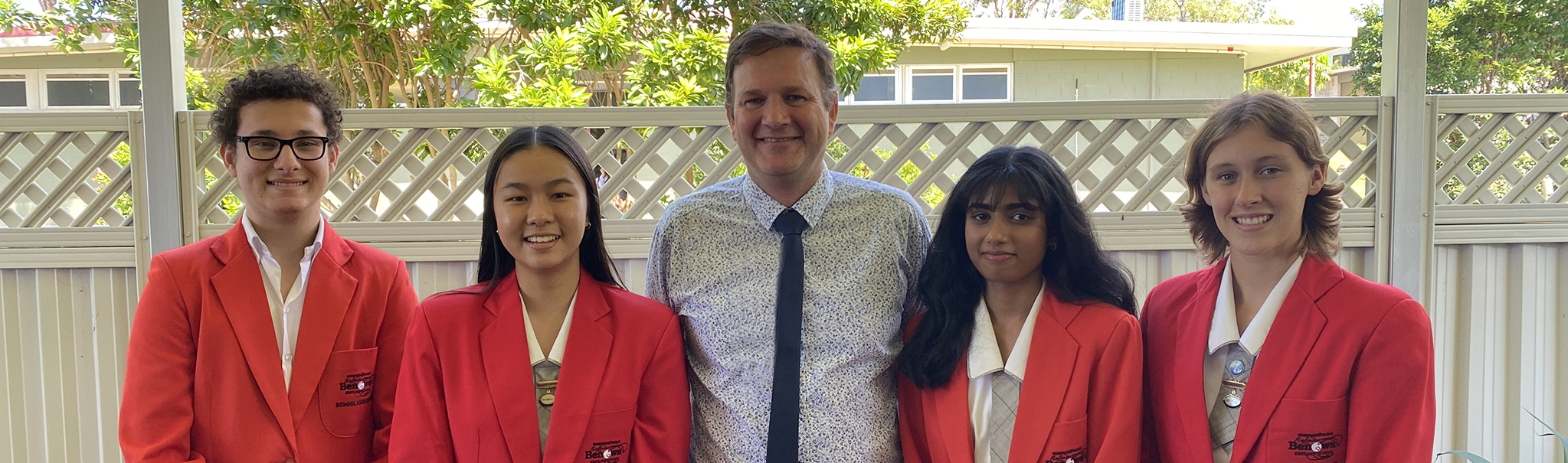 Benowa State High School captains