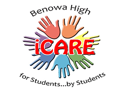 Benowa High iCARE for students by students logo